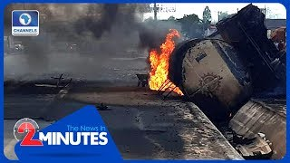 Mother And Child Killed In Anambra Tanker Fire