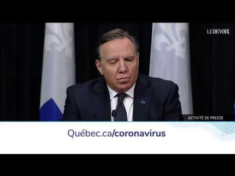 Coronavirus: le point sur la pandémie de COVID-19 au Québec | Jeudi 26 mars