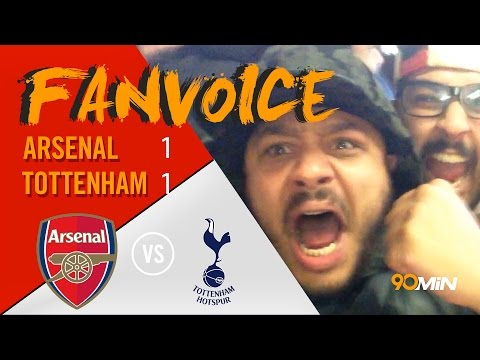 Arsenal 1-1 Tottenham | Arsenal are a joke! Kane goal saves Spurs | 90min FanVoice