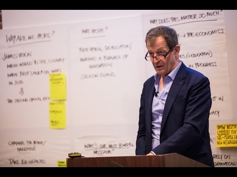 Alastair Campbell speech on building winning campaigns - Clearly.