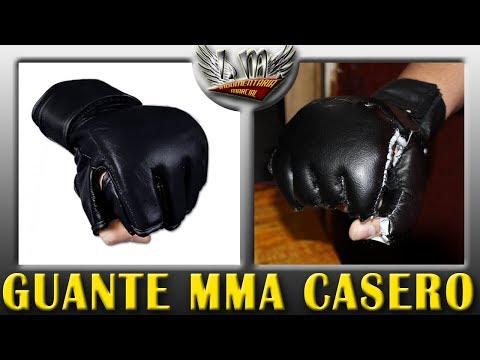 Como hacer Guantes de MMA Muy Facil
