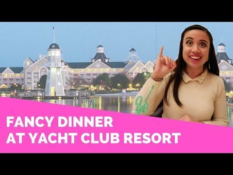 FANCY DINNER AT YACHT CLUB RESORT || Disney Professional Internship Vlogs