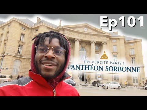 Une Journée Dans Ma Vie D'étudiant 👨🏾🎓 (Paris 1 Panthéon Sorbonne) : Partiels, Grèves, Etc...