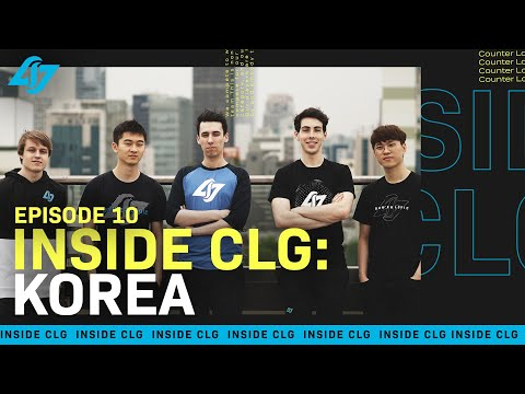 We Sent the LCS Team to Korea | Inside CLG