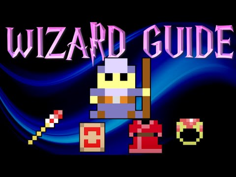 RotMG WIZARD CLASS GUIDE | Realm Of The Mad God