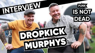 Dropkick Murphys Hellfest - Punk is not dead - Interview by Radio Metal - Subtitles available