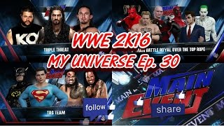 """WWE Universe Mode - Ep. 30 """"THIS RESEMBLES A PRISON RIOT, FIGHT FOR YOUR LIFE!!"""" [WWE 2k16]"""