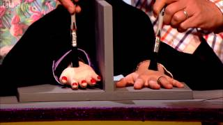 Getting a new hand - QI: Series L Episode 10 Preview - BBC Two