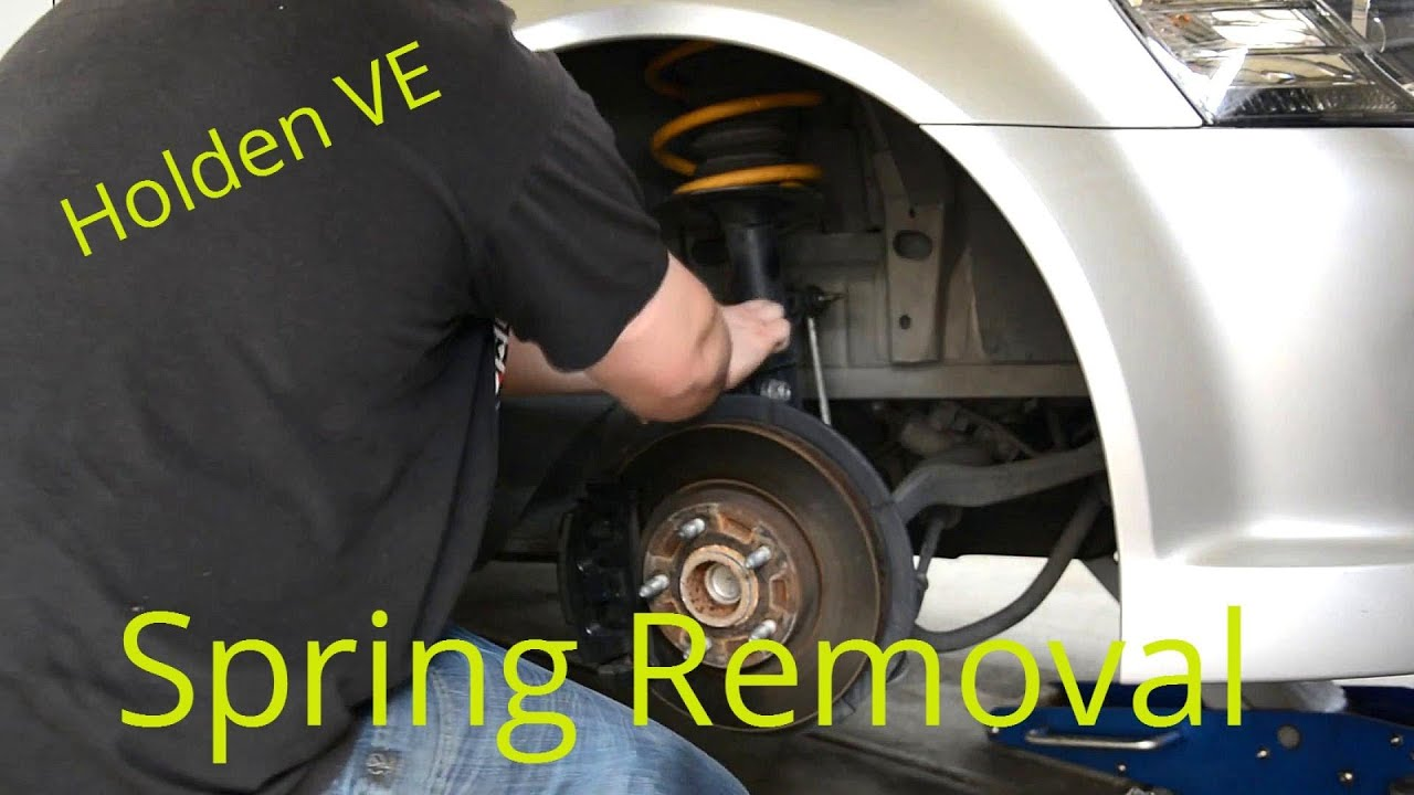 Holden VE Commodore  Spring Removal and Strut Top