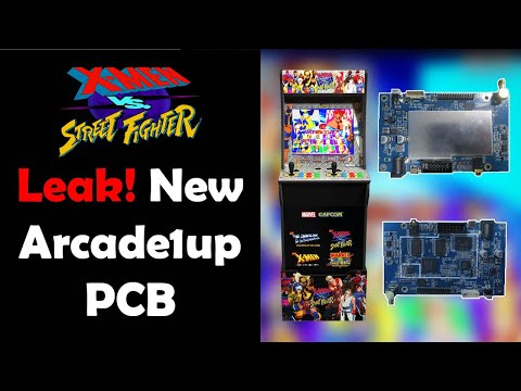 LEAK: X-Men vs Street Fighter Arcade1up Revealed. All New PCB! Likely Applies to Marvel v Capcom Too from Unqualified Critics