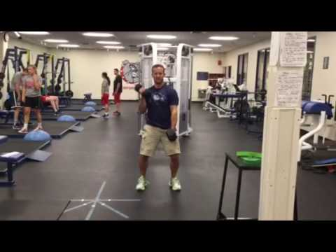 DB Alternating Clean and Press