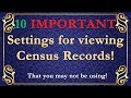 - 10 IMPORTANT settings you may not be using!