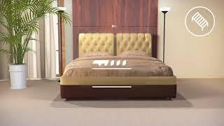 видео Кровать Como 1