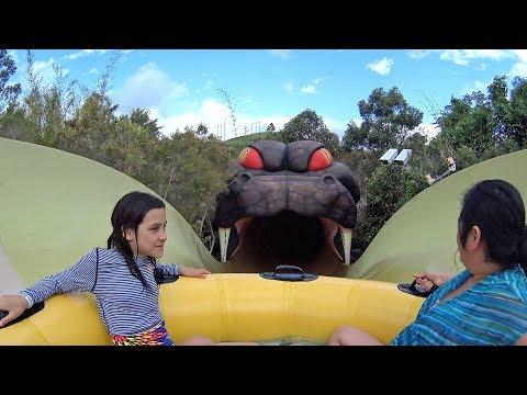 Taipan Snake Water Slide at Jamberoo Action Park