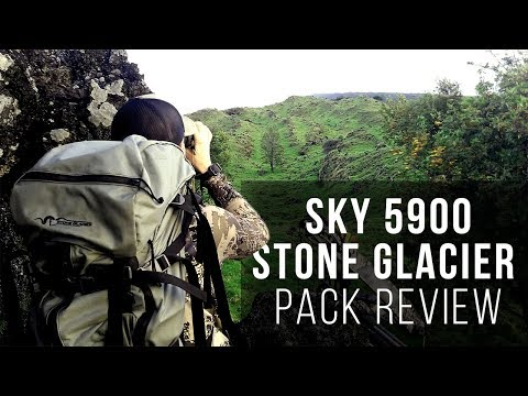 Sky 5900 Stone Glacier Pack Review - A Hunting Backpack for Day Trips and Multi-day Hunts