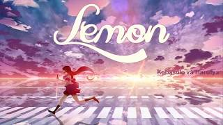 Lemon - Kobasolo & Harutya || Lyrics Video.