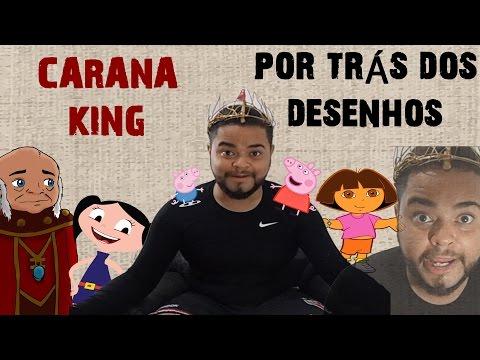 POR TRÁS DOS DESENHOS-CARANA KING-DORA- PEPPA PIG - SHOW DA LUNA - CAVERNA DO DRAGÃO - IKIMAN