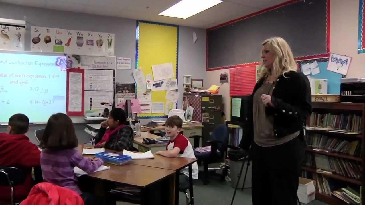 Elementary Classroom Playlist ~ Classroom clips th grade math kelli mays part