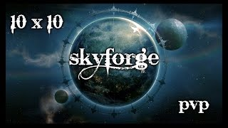 Skyforge pvp 10x10 Арена бессмертных - экшн однако
