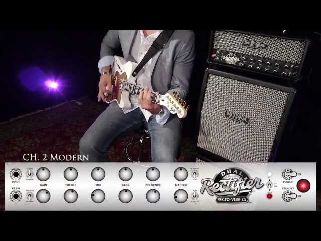 MESA/Boogie Recto-Verb 25 Ch. 2 MODERN – Alternative Rock