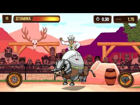 PBR: Raging Bulls Android Gameplay