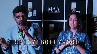 Screening of Royal Stag short film Maa with Dino Morea Neena Kulkarni and Niranjan Iyengar