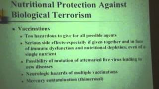 Protection Against Chemical, Biological & Nuclear Terrorism Agents Lecture - Dr. Russell Blaylock