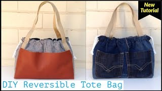 DIY REVERSIBLE TOTE BAGDIY BAG…