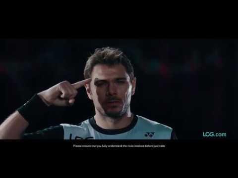 LCG's TV ad starring Stan Wawrinka
