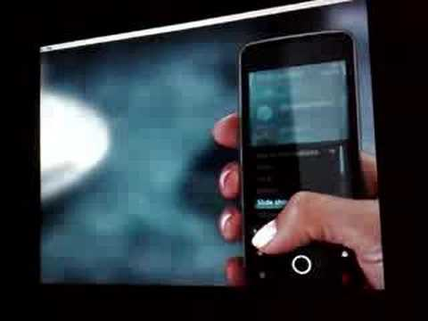 The new Nokia Smartphone (Symbian) S60 touch UI