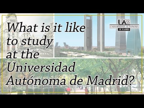 Study at the UAM. Study in Madrid.
