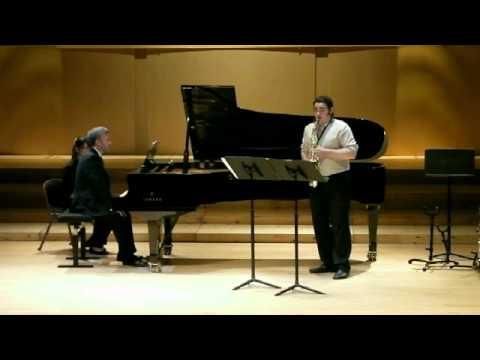 Sonata for Alto Saxophone & Piano, Edison Denisov  / Joshua Hyde & Roger Admiral