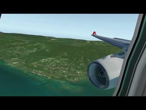 Landing A330-200 @ Sangster Intl. Airport