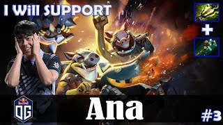 Ana - Techies Offlane | I Will SUPPORT | Dota 2 Pro PUB Gameplay #3