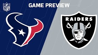 Texans vs. Raiders (Week 11 Preview) | NFL Now