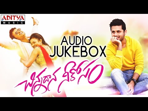 Chinnadana Neekosam చిన్నదాన నీకోసం Full Songs Jukebox  Nithin,Mishti Chakraborty