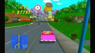 The Simpsons: Road Rage (PS2 Gameplay)