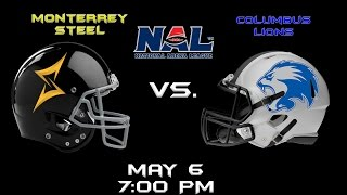 Monterrey Steel vs Columbus Lions