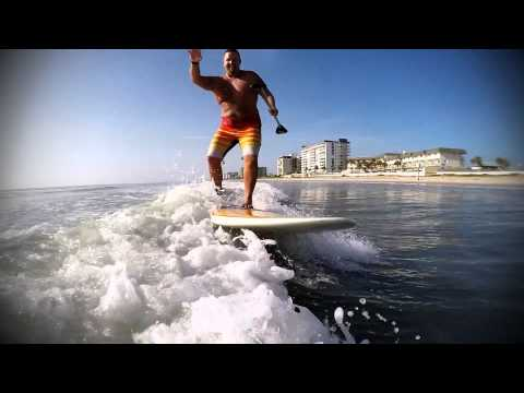 Surfing Ormond by the sea withTodd Hammond