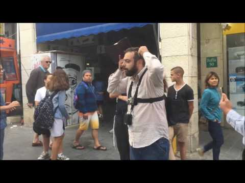 Intense Hostility (spit upon like ten times) Preaching in Jerusalem