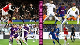 Best Assists for Goals and Outstanding Scores in European Football- Full HD 1080p