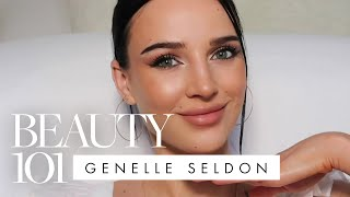 Genelle seldon shares her getting-ready routine, from moisturizing to highlighting. a 16-step makeup guide on how get the perfect dewy, bronze summer look...