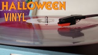 Halloween(2018) Vinyl Limited Blood Puddle Edition Unboxing