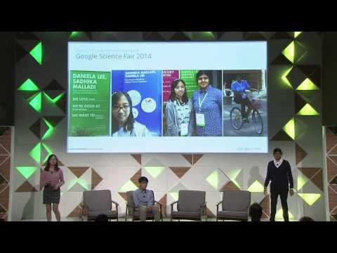 Kenneth Shinozuka; Daniela Lee and Sadhika Malladi, Google Science Fair Finalists