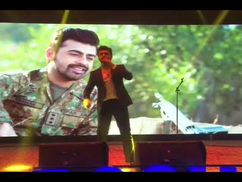 Farhan Saeed Pakistani singer at Faletti's Hotel lahore 2 may 2018