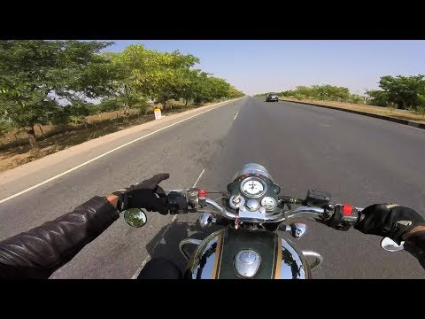 What Royal Enfield sounds like when you are riding it