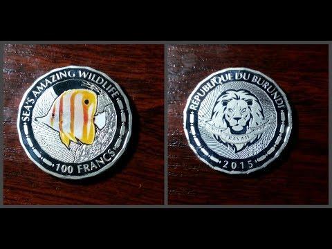 Монета 100  франк 2015 Бурунди /Coin 100 francs 2015 Burundi /Нумизматический челлендж