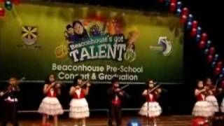 Beaconhouse Malaysia Pre-School Concert & Graduation - Violin