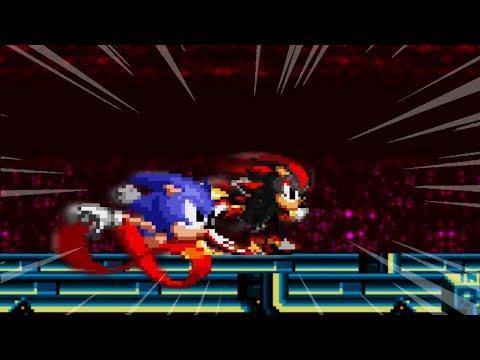 Sonic CD - Shadow Over Metal Sonic Mod