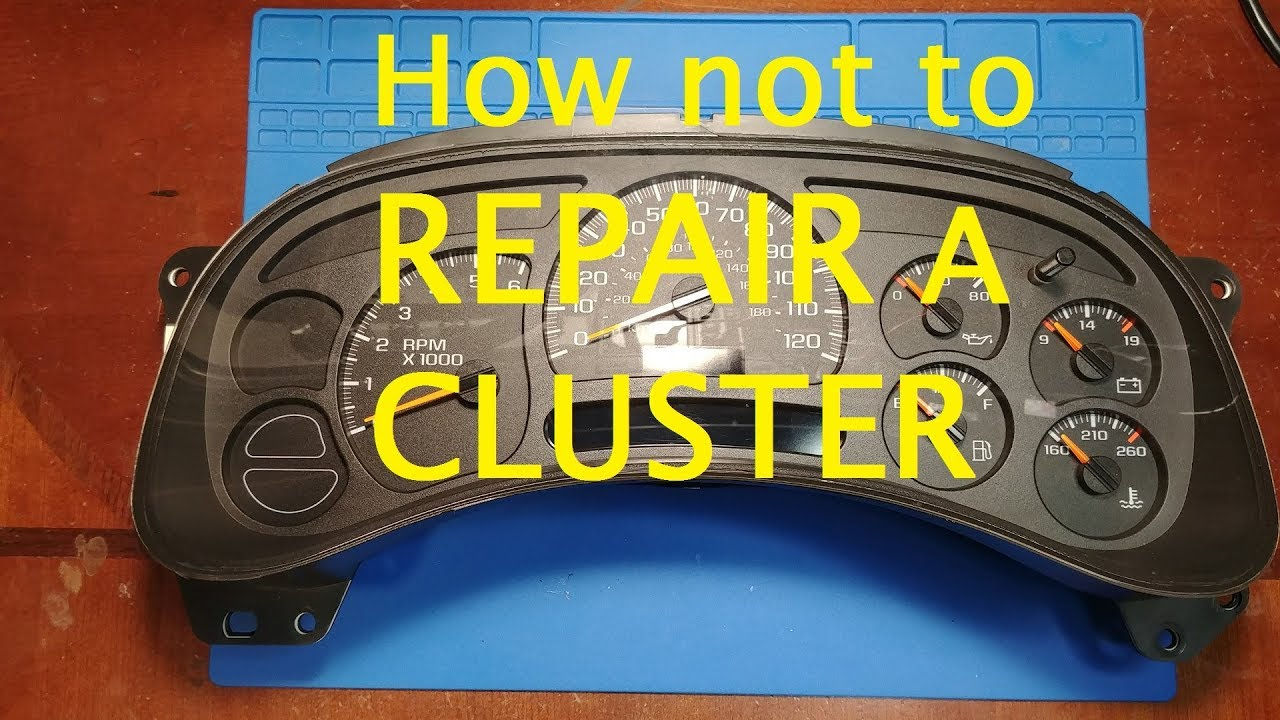 Partsam 6pcs x 27.168 Gauge Instrument Cluster Stepper Motor Replacement for GMC Sierra 1500 2003-2006 Gauge Cluster Stepper Motor